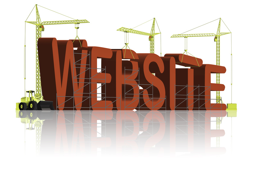 building website web under construction
